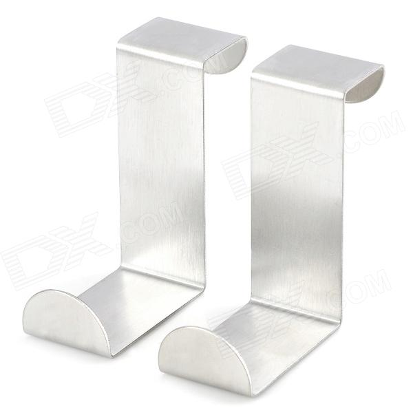 Buy Handy Stainless Steel Door / Window Hook - Silvery White (2 PCS) with Litecoins with Free Shipping on Gipsybee.com