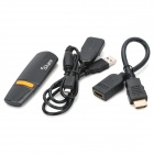 WIDI AirPlay DLAN/Miracast HDMI Wireless Screen Share Dongle for iPhone/PC/Android Device - Black