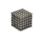 4.7~4.9mm Neodymium NIB Magnet Sphere with Steel Case - Black (216PCS)