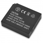 Replacement 7.4V 1000mAh Decoded Battery for Panasonic DMW-BLH7E Digital Camera - Black