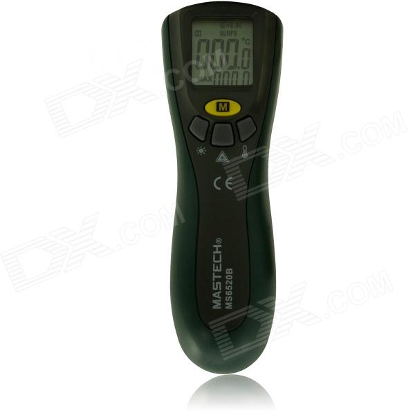 MASTECH MS6520B Non-Contact Infrared Thermometers / Temperature Monitor - Black + Army Green