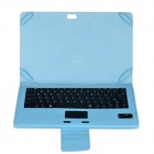 Avtakbar Bluetooth V3.0 84-tasters tastatur PU Leather Case for Microsoft Surface RT & Surface Pro