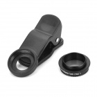 6X Zoom Optical Camera Lens Telescope for Mobile Phone - Black