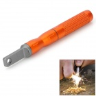 EDCGEAR Outdoor Fire Lighting Magnesium Flint Stone Tool Set - Orange