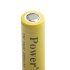 Power XWD-800 Rechargeable 4.2V 800mAh Lithium Ion 18650 Battery - Yellow