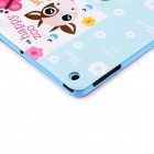 Lofter Happy Zoo Illustration Protective Case Cover Stand for RETINA IPAD MINI - White + Red
