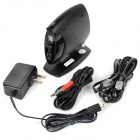 XBA802 BluetoothV2.0 Receiver Adapter for Fixed-line Telephone - Black