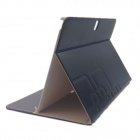 Protective PU leather Case Cover Stand for Samsung Galaxy Tab T520 / P600 / P601 - Black