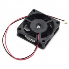 MaiTech DC 12V 0.15A 6cm 2 Wire Drive Ball Bearing Cooling Fan - Black