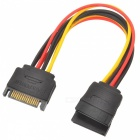 Universele SATA 3.0 4-pins tot 15-pins Power Cable Deconcentrator