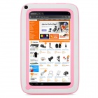 "k72 7"" Children Android 4.22 Tablet PC w/ 8GB ROM, 512MB RAM, Dual Camera - Pink + White"