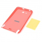 """X""-Shape Pattern TPU Back Case w/ Screen Guard for Samsung Galaxy Tab 3 Lite T110 / T111 - Red"