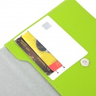 "A1011 Universal 7"" Protective PU Leather Case for Tablet PC - Grass Green + White"