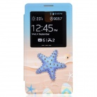Stylish Star Pattern Diamond-studded PU Leather Case for Samsung Galaxy Note 3