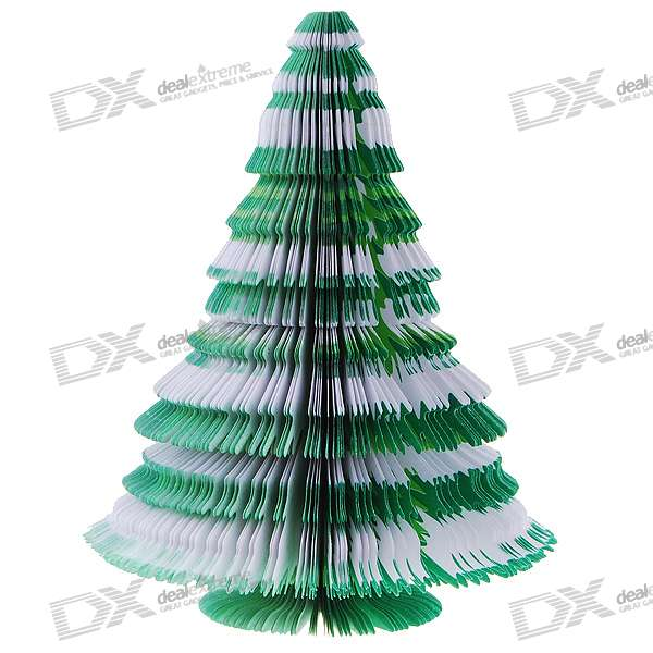 Buy Unique Creative Christmas Tree Shaped Memo Pad (About 150-Page) with Litecoins with Free Shipping on Gipsybee.com