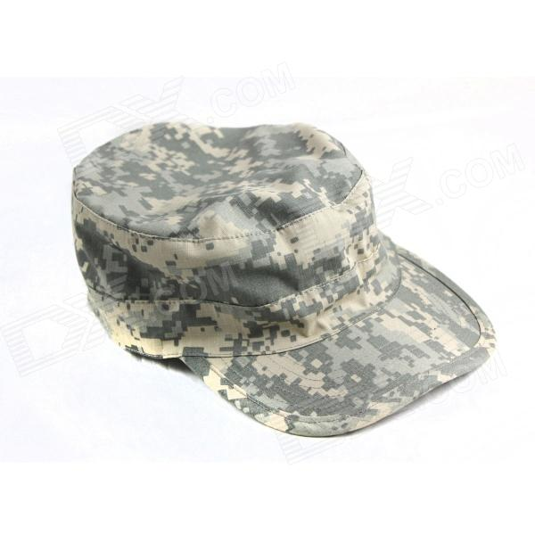 Buy Cloth Peaked Cap for Men - Camouflage with Litecoins with Free Shipping on Gipsybee.com