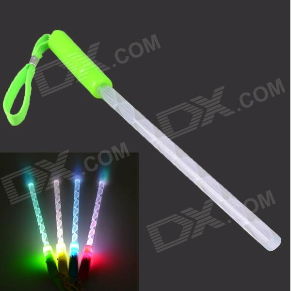 Buy RF-GL3G LED Hand Light Stick Flash Stick - Green + White (4 x AG3) with Litecoins with Free Shipping on Gipsybee.com