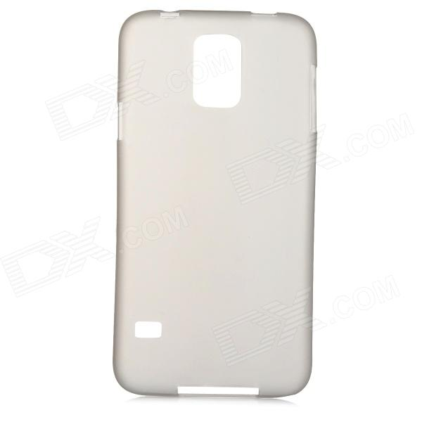 Protective 0.2mm Thin ABS Back Case for Samsung Galaxy S5 - Translucent Gray