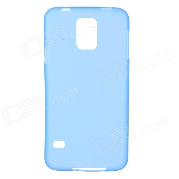 Protective ABS Back Case for Samsung Galaxy S5 - Translucent BluePlastic Cases<br>Form  ColorTranslucent BlueBrandN/AModelN/AMaterialABSQuantity1 DX.PCM.Model.AttributeModel.UnitShade Of ColorBlueCompatible ModelsSamsung Galaxy S5Packing List1 x Back case<br>