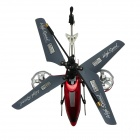 Brilink BH12 Rechargeable 4-CH IR Remote Control R/C Helicopter w/ Gyro - Red