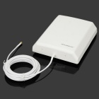 LEGUANG LG-10DB Outdoor Wireless WiFi Booster guadagno Antenna - bianco