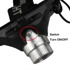 SingFire SF-635 LED 250lm 2-Mode White Zooming Headlamp - Black + Silver (3 x AAA)