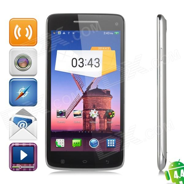 "W-92 Android 4.4 Octa-core WCDMA Bar Phone w/ 5.0"" Screen, Wi-Fi, GPS, RAM 2GB and ROM 16GB"