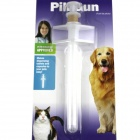 Pet Care Medicine-Given Device - White + Transparent