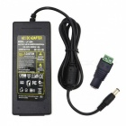 48W 12V 4A Power Supply AC Adapter w/ 5.5 x 2.1mm DC Adapter - Black