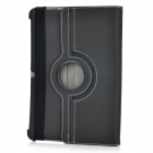 Rotation PU Leather Case + Stylus + Screen Protector + 30-Pin Cables for Samsung P5100 / P5110