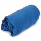 Naturehike SDLN Outdoor Sports Travel Cotton Sleeping Bag w/ Storage Pouch - Deep Blue