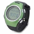 Spovan SPV901 Digital Quartz Outdoor Sports Wrist Watch w/ Calories Calculation + Pedometer - Green