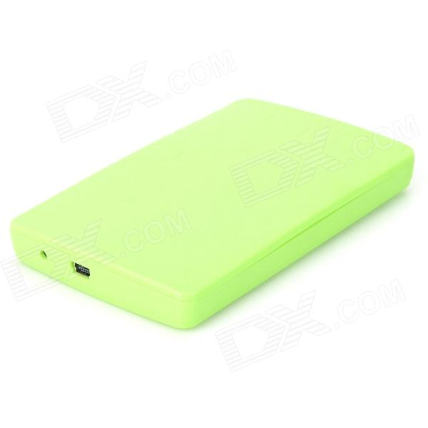 2.5'' USB 2.0 SATA Serial Port HDD Enclosure - Green