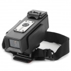 FHD01 HD 5.0MP 1080P Wide Angle CMOS Water Resistant Camcorder for Bicycle - Black