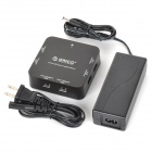 ORICO DCP-6U-BK Multifunction 480Mbps USB 6-Port  BC1.2 Charger for IPHONE / Samsung + More - Black