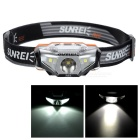 SUNREE R4 Warm Yellow LED Water Resistant Head Lamp - Black (1*AA)