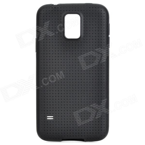 Protective TPU Case for Samsung Galaxy S5 - BlackTPU Cases<br>Form  ColorBlackBrandN/AModelN/AMaterialTPUQuantity1 DX.PCM.Model.AttributeModel.UnitShade Of ColorBlackCompatible ModelsSamsung Galaxy S5Packing List1 x Case<br>