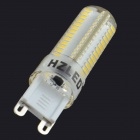 HZLED G9 4W 300lm 3000K104 x SMD 3014 LED Warm White Light Lamp Bulb - White (220V)