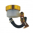 Motorcycle Modified Brake Pump Oil Cup - Yellow
