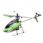 V911 Rechargeable 2.4GHz 4-Channel R/C Helicopter - Green + Black