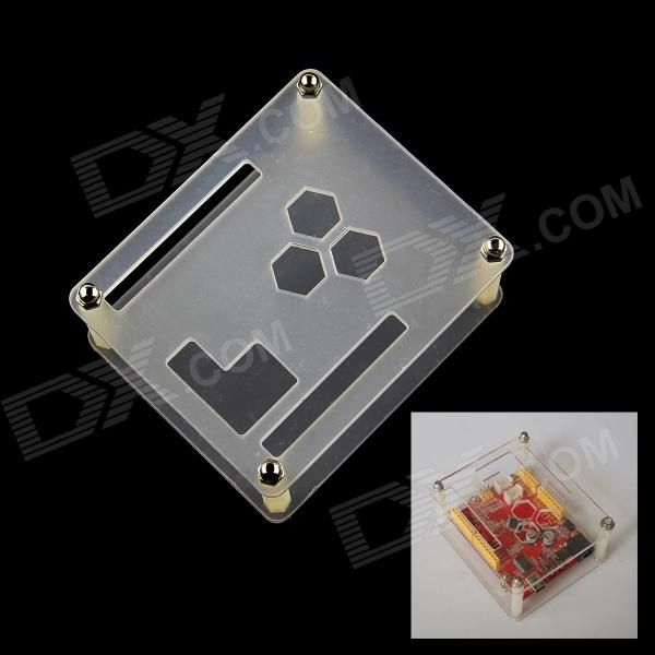 DIY Acrylic Case Box for Seeduino / Duemilanove / Freaduino / Arduino - Transparent