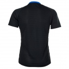 Protective 3325B Short Sleeves Quick-Dry Elastic Polyester T-Shirt for Men - Blue + Black (XL)