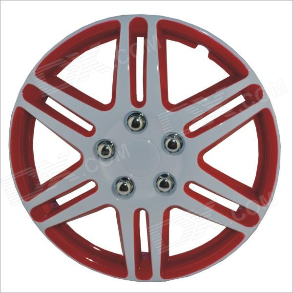 14 Inch ABS Car Wheel Hub Cover - Red + Silver (4 PCS)Other Exterior<br>Form ColorRed + Silver + Multi-ColoredBrandN/AModel14Quantity4 DX.PCM.Model.AttributeModel.UnitMaterialABSCompatible MakeUniversalPacking List4 x 14 inch wheel covers4 x Wire rings<br>