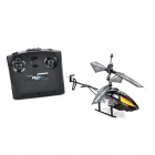 IA 8875 Outdoor 27MHz 2-CH IR R/C Helicopter - Black + Orange (6 x AA)