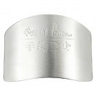 Novel Cutting Vegetable Stainless Steel Finger Guard - Silver