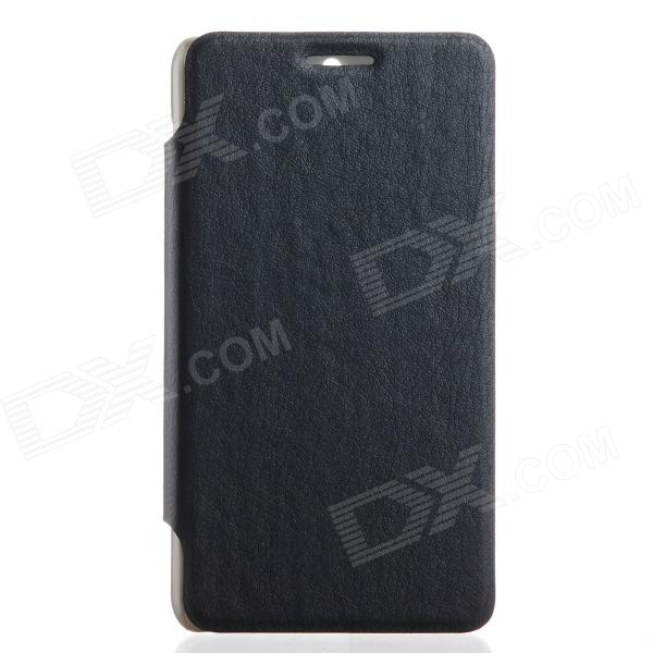 KALAIDENG protettivo PU Leather Case Cover Stand per Sony Xperia E1 - nero