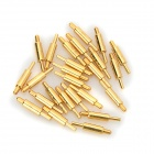 LSON 15 x 0.8mm Gold-Plated Copper Current Pins - Golden (25 PCS)