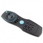 C&S A8 Mermaid 2.4G Air Mouse Wireless Keyboard w/ Remote Control - Black + Blue