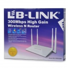 L-WR4300H LB-LINK 300Mbps Wireless Router w / 4-Antenna - nero