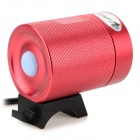 UltraFire MT-40 LED 600LM 3-Mode Cool White Bicycle Lamp - Red + Black